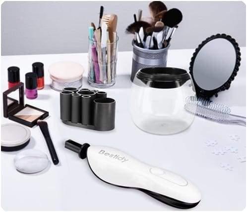 productos para limpiar brochas de maquillaje