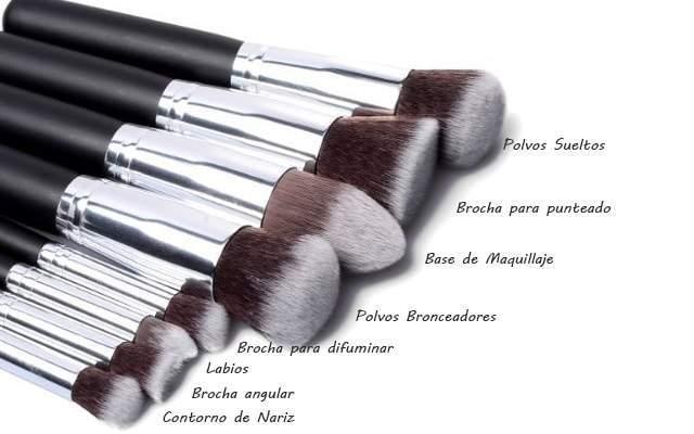 brochas de maquillaje baratas online