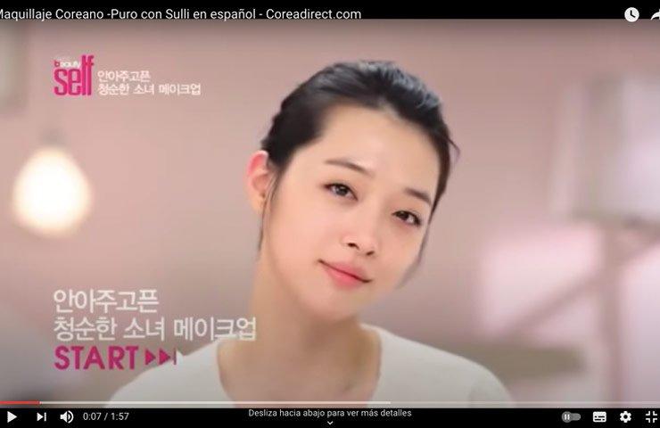 tutorial maquillaje coreano paso a paso